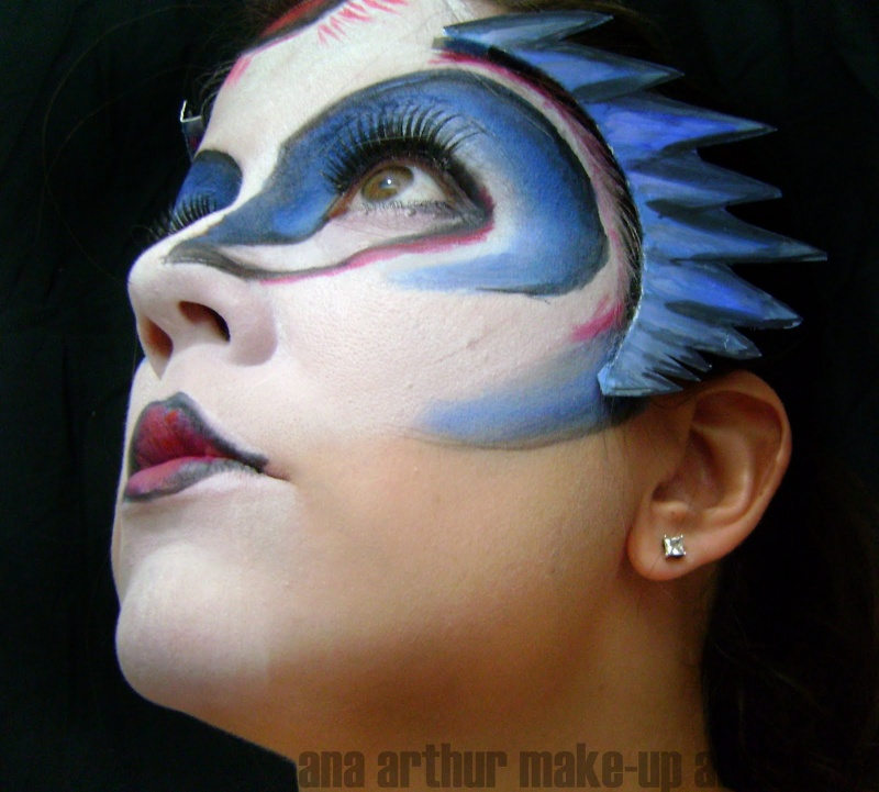 Bird Makeup - Mugeek Vidalondon