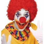clown red wig